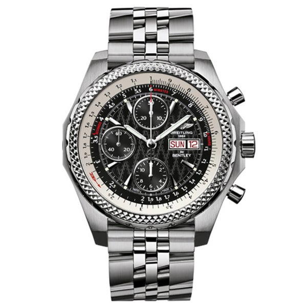 Breitling Bentley Gt Wristwatches: Shop Breitling Men's Steel 'for Bentley GT Racing