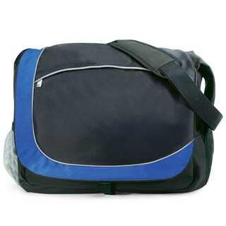 G. Pacific by Traveler's Choice 18-inch Casual Laptop Messenger Bag (Option: Navy)