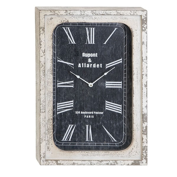 Portobello Vintage Antiqued Classic Wall Clock