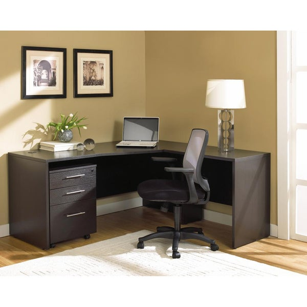 Jesper Office 100 Series Espresso Work Station Free Shipping Today 7518762
