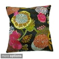 Ethnic Kantha Work Pillow Cover (India)