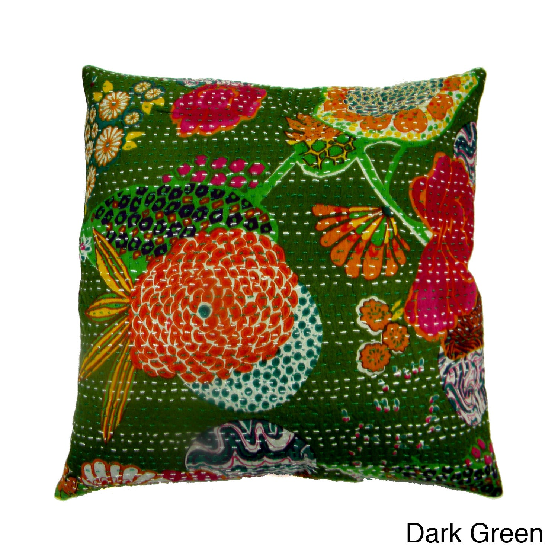 "Indian Cushion Cover Plain Home Decor Throw Pillow Velvet Case 12/"" 9115"