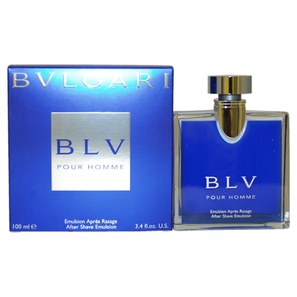 Bvlgari 'BLV' Men's 3.4-ounce After Shave Emulsion