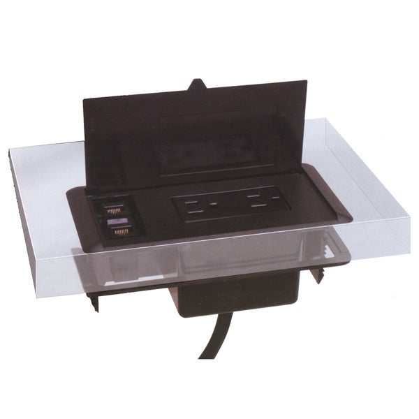 Mayline Optional Power Module For Aberdeen Brighton Or Napoli - Napoli conference table