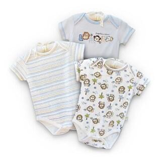 Infant 'Little Lion' Organic Cotton Bodysuits (Set of 3)