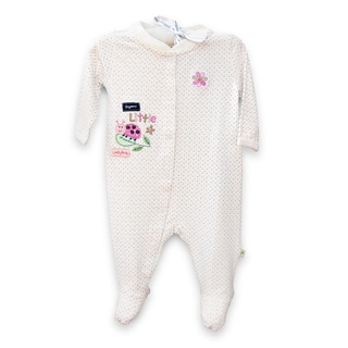 Organically Grown® Infant 'Little Ladybug' Confetti Dot Organic Cotton Coveralls