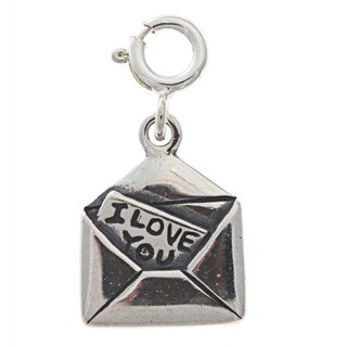 Sterling Silver Love Note Charm