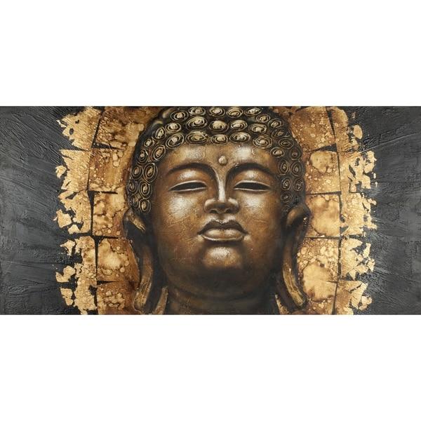 Safavieh works of art gold buddha canvas art