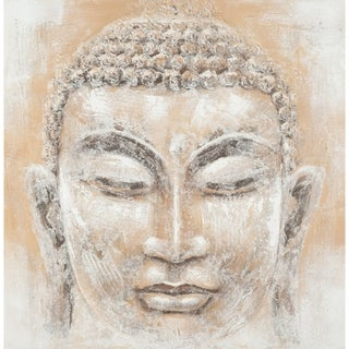 Safavieh Works of Art Peace Buddha Canvas Art