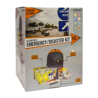 Lifeline First Aid 72-hour Disaster Emergency Kit