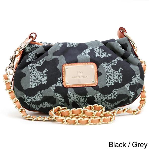 Anais Gvani Camouflage Petite Crossbody Bag