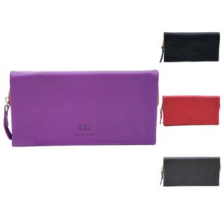 Anais Gvani Women's Genuine Leather Bi-fold Wallet (3 options available)