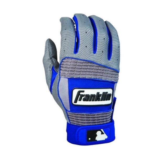 MLB Adult Grey/ Royal Neo Classic II Batting Glove