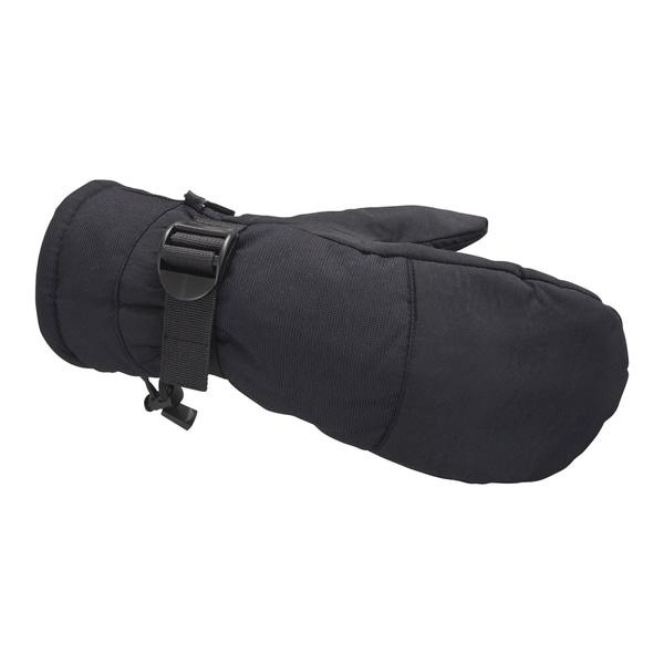 Raider Taslon Black Mittens (Pack of 12)