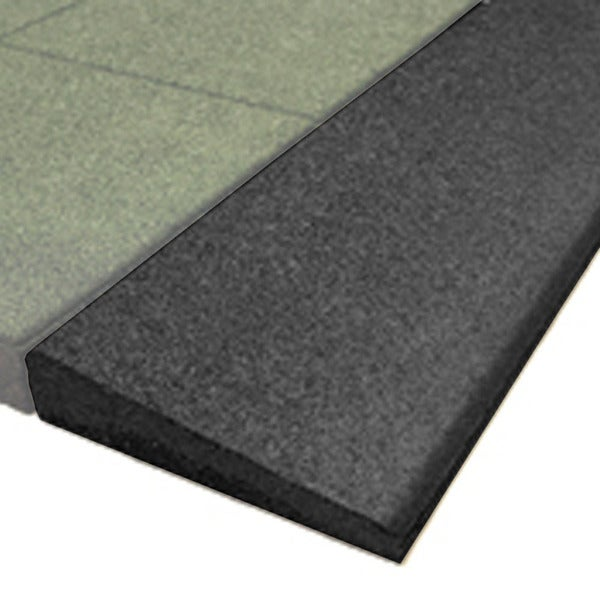 PlayFall Black 1.75-inch Thick Beveled Edge Border
