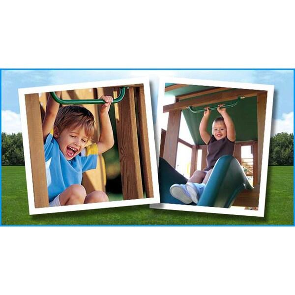 Kidwise Green Slide Handle