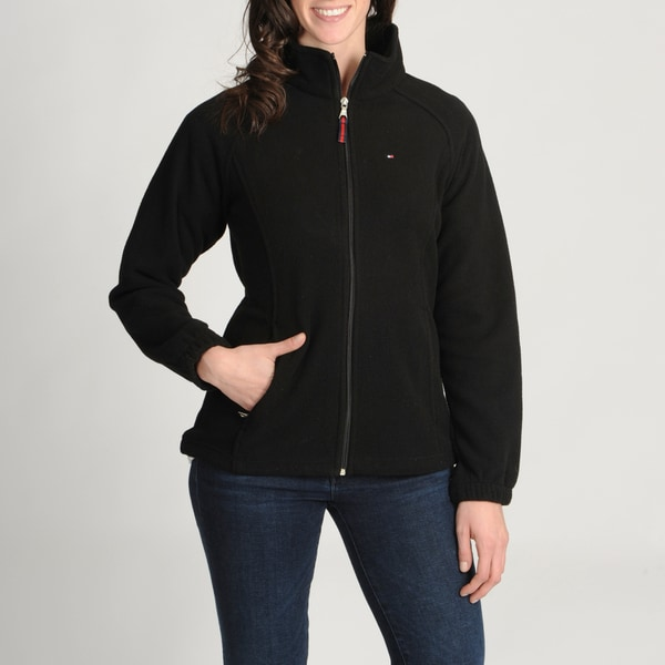 Tommy Hilfiger Women's Zip Fleece Jacket - Free Shipping On Orders ...