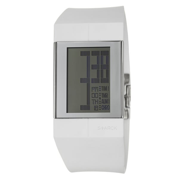 Philippe Starck Men's Stainless Steel Digital Chronograph Watch