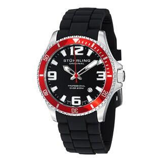 Stuhrling Original Men's Regatta Champion Sport Rubber Strap Watch