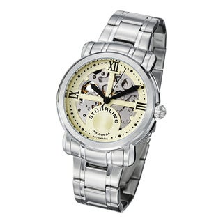 Stuhrling Original Men's Argent Automatic Stainless Steel Bracelet Watch