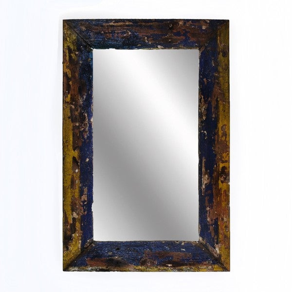 Ecologica Reclaimed Wood Rustic Mirror