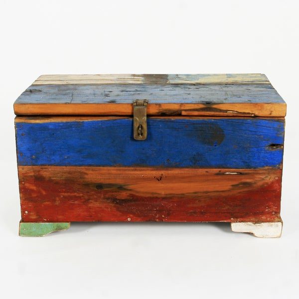 Ecologica Reclained Wooden Trunk Box