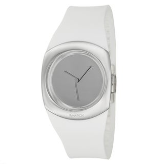 Philippe Starck Women's White Stainless-Steel 'Minimalist' Watch