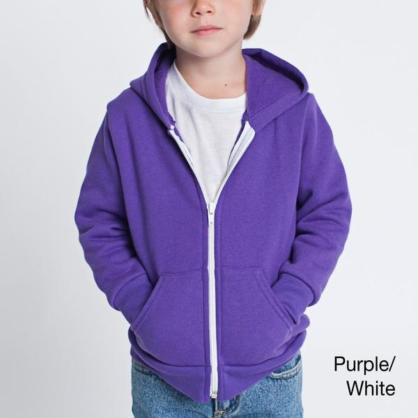 American Apparel Toddler Flex Fleece Zip Hoodie