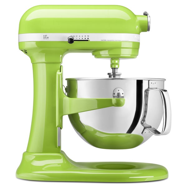 KitchenAid KP26M1XGA Green Apple 6-quart Pro 600 Bowl-Lift Stand Mixer