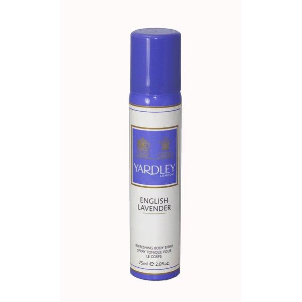 Yardley Of London English Lavender Women's 2.6-ounce Refreshing Body Spray