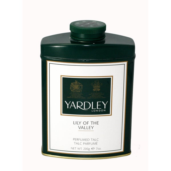 Yardley Of London Lily of the Valley Women's Perfumed Talc (Unboxed)