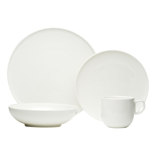 Red Vanilla Every Time White 16Pc Dinner Set