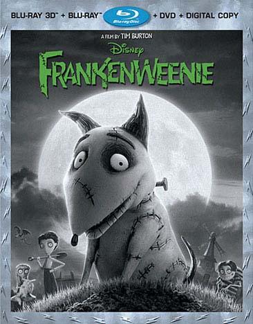 Frankenweenie 3D (Blu-ray/DVD)