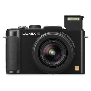 Panasonic Lumix DMC-LX7 10.1 Megapixel Compact Camera - Black