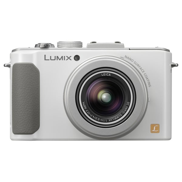 Panasonic Lumix DMC-LX7 10.1 Megapixel Compact Camera - White
