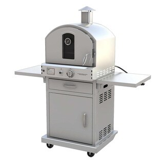 Outdoor Stainless Steel Gas Oven with Cart