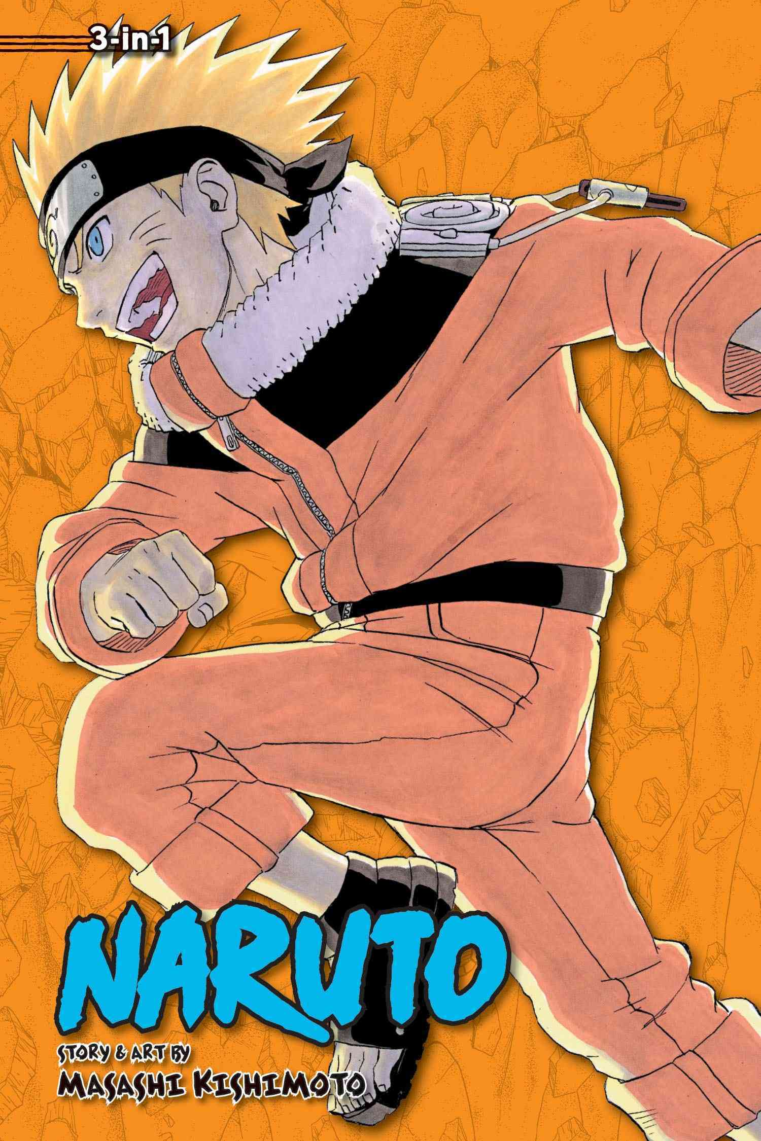 Naruto 6: 3-in-1 Edition (Paperback)