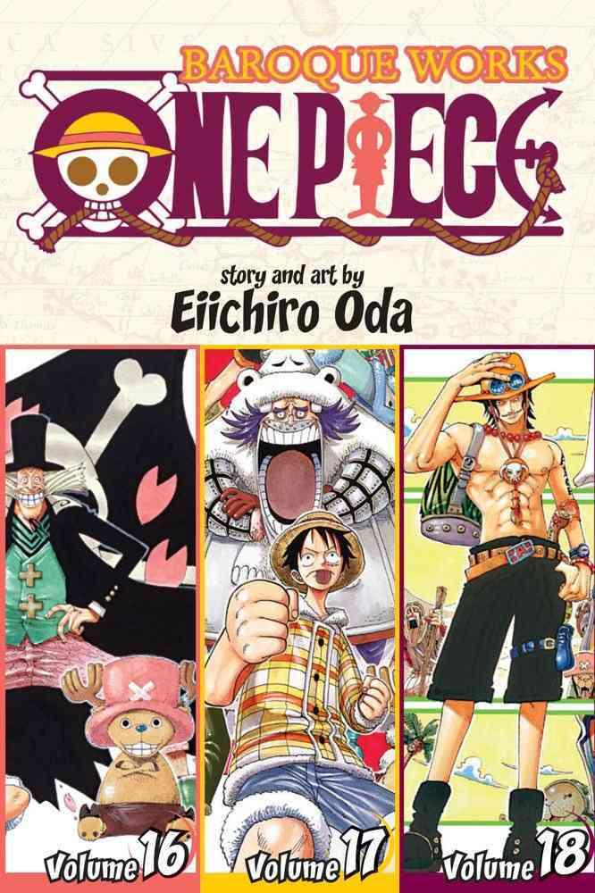 One Piece Baroque Works 16-17-18: Shonen Jump Manga Omnibus Edition (Paperback)
