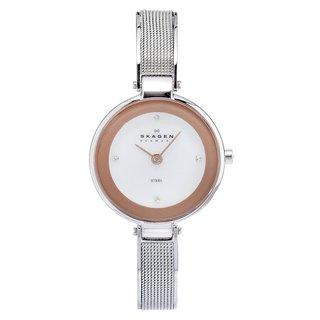 Skagen Women's Steel Slim Mesh Strap Watch