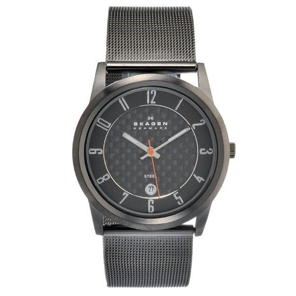 Skagen Men's Stainless Steel Date Watch