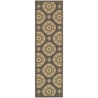 StyleHaven Floral Grey/Gold Indoor-Outdoor Area Rug (5 options available)
