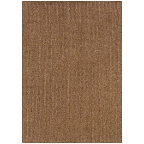 Pine Canopy Artemisia Woven Tan Indoor/Outdoor Area Rug