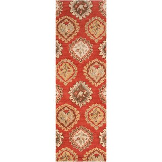 Hand tufted Humble Wool Area Rug (2' x 3')