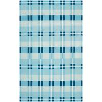 Hand woven Laredo Wool Area Rug (2' x 3')