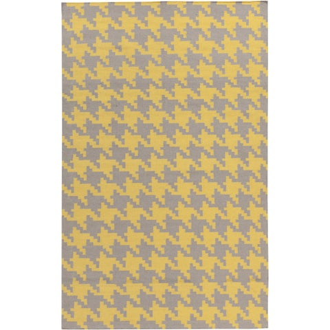 Hand-woven Lyons Geometric Wool Area Rug