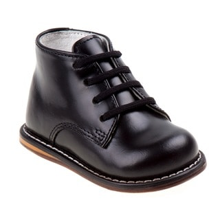 Boy's Ankle-height Leather Oxfords