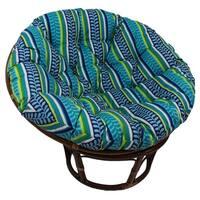 International Caravan Bali Papasan Chair with Indoor/Outdoor Cushion