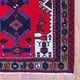 Persian Hand-knotted Tribal Hamadan Red/ Brown Wool Rug (3'5 x 4'10)
