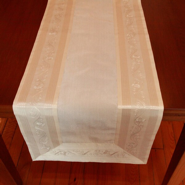 Authentic Turkish 70-inch Rectangular Tailored Edge Table Runner