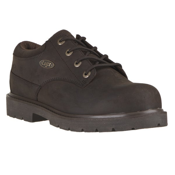 Lugz Men's 'Drifter Lo' Chocolate Nubuck Lace-Up Boots